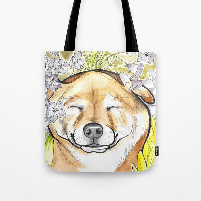 Jay Jay the happy Shiba Tote Bag