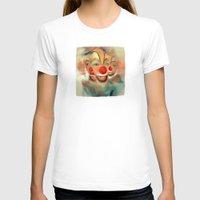 clown T-shirts featuring clown by robotrake