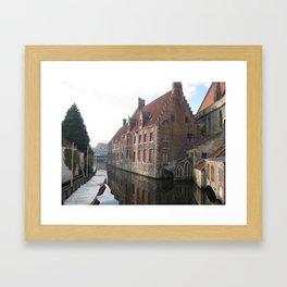 In Bruges... Framed Art Print