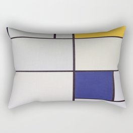Piet Mondrian - Tableau I Rectangular Pillow