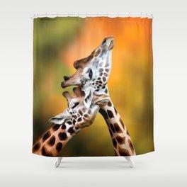 Jiraffe Shower Curtain