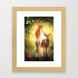 My Dear Forest Framed Art Print