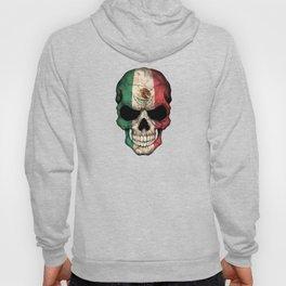 Dark Skull with Flag of Mexico Hoody