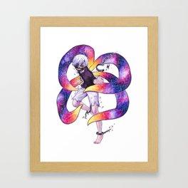 Nebula Kaneki Ken Tokyo Ghoul Framed Art Print