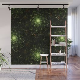 Kaos Entwined Flame Fractal Wall Mural