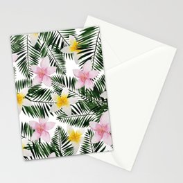 Leave Me Aloha in White Stationery Cards