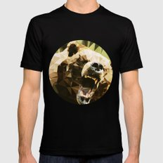 Ursus Arctos MEDIUM Black Mens Fitted Tee