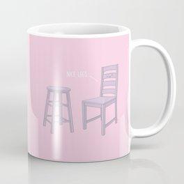 Nice Legs #kawaii #pink Coffee Mug