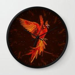 Phoenix Rising - #1 Wall Clock