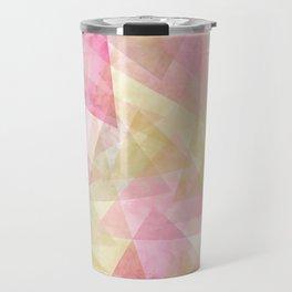 Abstract geometry pattern Travel Mug