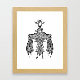 Crowned Messenger Framed Art Print