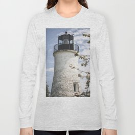 Blossoms and Lighthouse Long Sleeve T-shirt