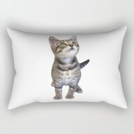 Tabby Kitten Rectangular Pillow