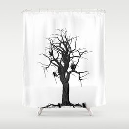 The tree of Fairy's  Shower Curtain