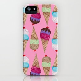 Sweet Pink Summer iPhone Case