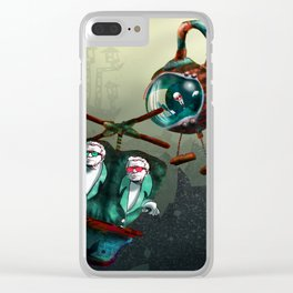 The Great Getaway Clear iPhone Case