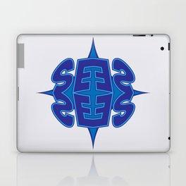 Abstract Typo Laptop & iPad Skin