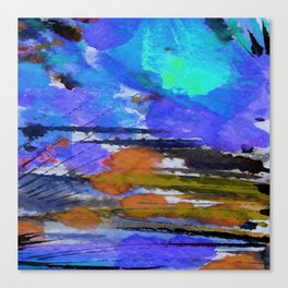 Art Abstraction 1E by Kathy Morton Stanion Canvas Print