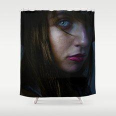 Crushing Shower Curtain