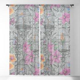 Matthew Williamson Orangery Wallpaper Sheer Curtain