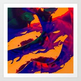 Vapor mango Art Print
