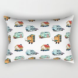Home Bodies pattern Rectangular Pillow