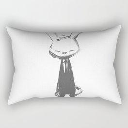 minima - beta bunny pose Rectangular Pillow