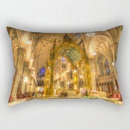 St Patrick's Cathedral New York Rectangular Pillow