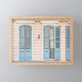 Shotgun House #2 - New Orleans Photography Framed Mini Art Print