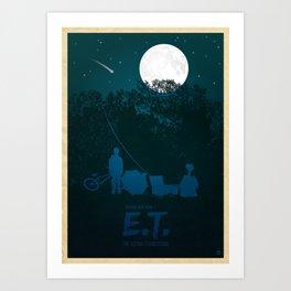STEVEN SPIELBERG'S E.T. Art Print