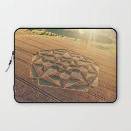 Crop Circle 2016 - Cherhill, Calstone, Wiltshire Laptop Sleeve