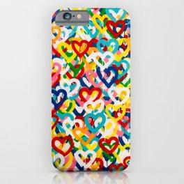 Love Rains iPhone Case