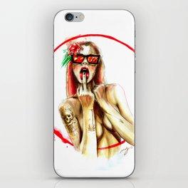 bad girls live forever iPhone Skin