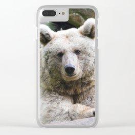 Bear_20180801_by_JAMFoto Clear iPhone Case