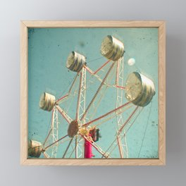 Ferris Wheel Framed Mini Art Print