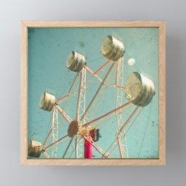 Ferris Wheel Framed Mini Art Print