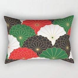 Japanese Chrysanthemum Rectangular Pillow