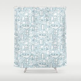 Tools of the Postal Worker Shower Curtain