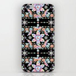 Folkloric Snowflakes iPhone Skin