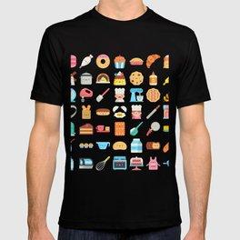 CUTE BAKERY PATTERN (CUTE CHEF BAKER) T-shirt