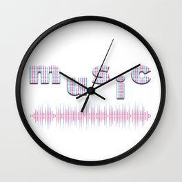 Music lover gift Wall Clock