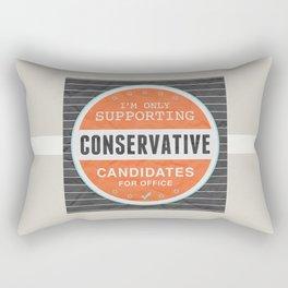 Support Conservatives Rectangular Pillow