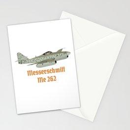 Messerschmitt Me 262 German WW2 Airplane Stationery Cards