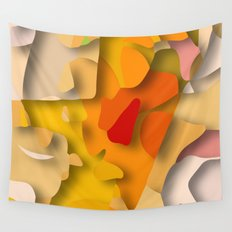 red spot Wall Tapestry