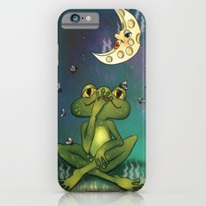 Frog and stinky moon iPhone 6s Slim Case