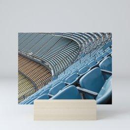 Stadium Seating: Dodger Stadium Mini Art Print
