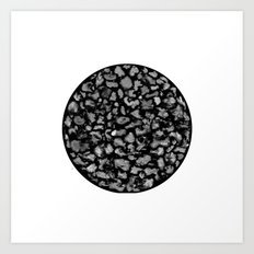 poussière Art Print
