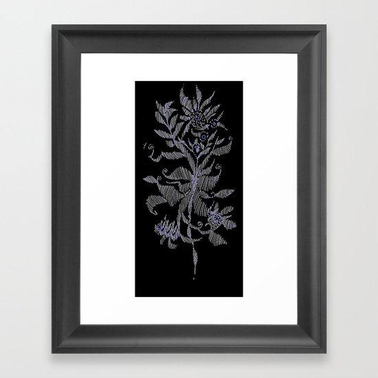 exotic plant Framed Art Print