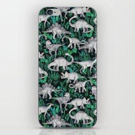 Dinosaur Jungle iPhone Skin