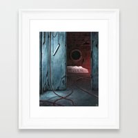 neon Framed Art Prints featuring Neon by Michael Brack